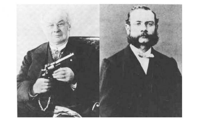Револьверы братьев Наган: Эмиля и Леона