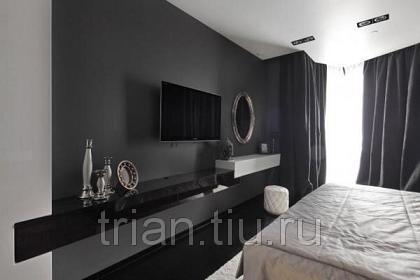 Черно-белый дизайн квартиры!