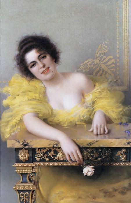 Портрет девушки. Витторио Маттео Коркос