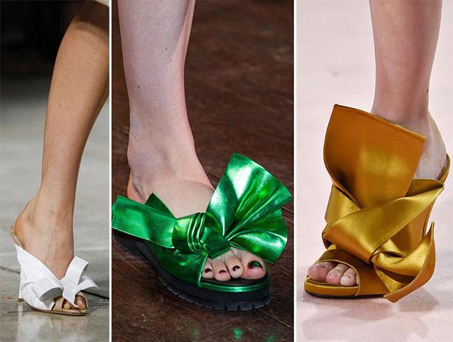 Обувь с бантом - тенденции весна-лето 2015