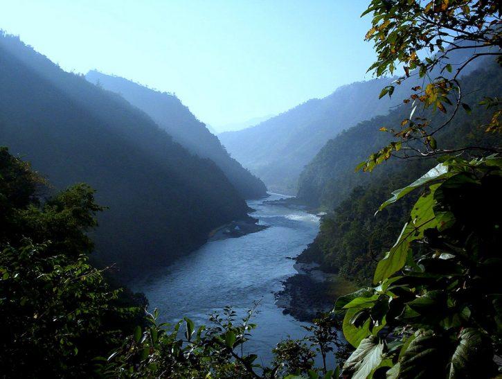 Ганг, Южная Азия