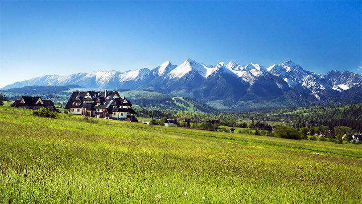 Красивые горы Татры