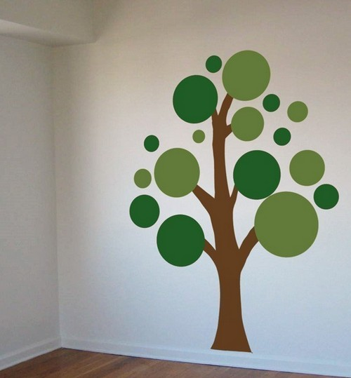 дерево на стене своими руками