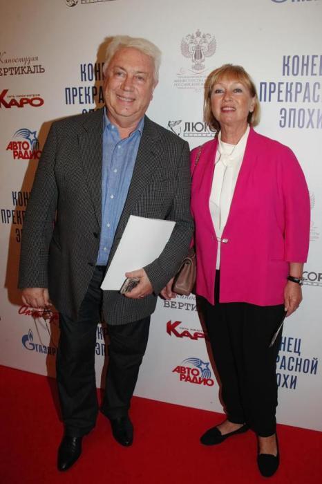 Владимир Натанович с женой. / Фото: www.kleo.ru