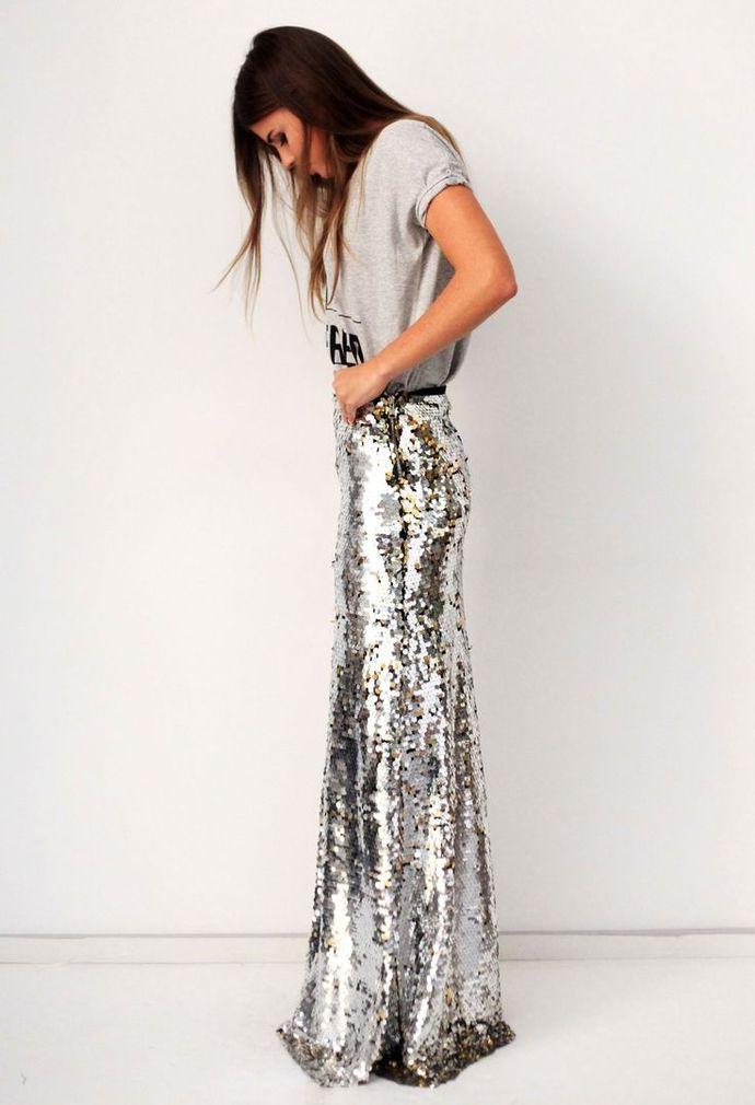 юбка, модные юбки, 2014, 2015, что надеть на корпоратив. что надеть на вечеринку, пайетки, тренд пайетки, мода, женская мода, коктейльная мода