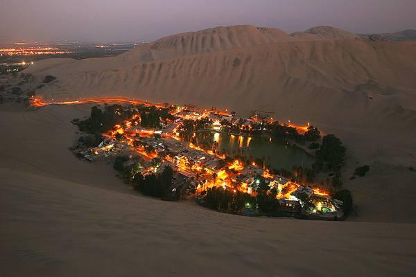 7 самых красивых оазисов мира (21 фото)