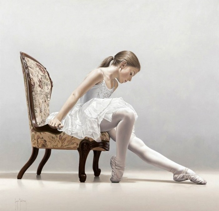 Юная балерина. Автор: Sergio Martinez Cifuentes.