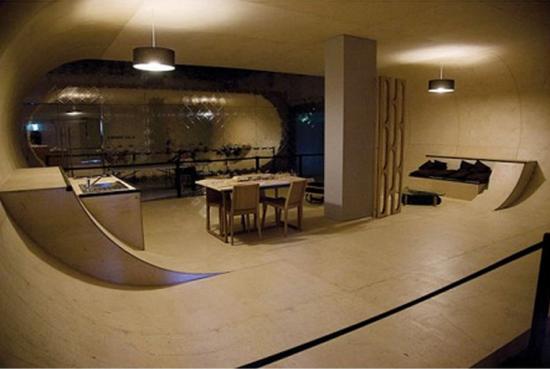 Дом-скейтборд