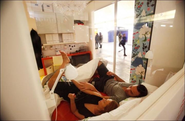 IKEA в парижском метро