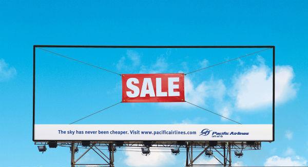 Реклама из воздуха
