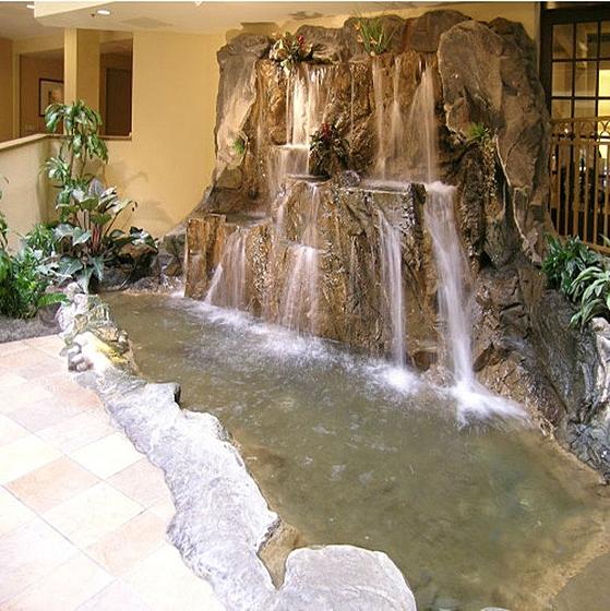 Водопад в доме: принцип действия обыкновенного чуда
