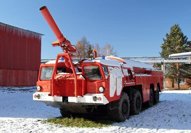 Самые крутые пожарные машины