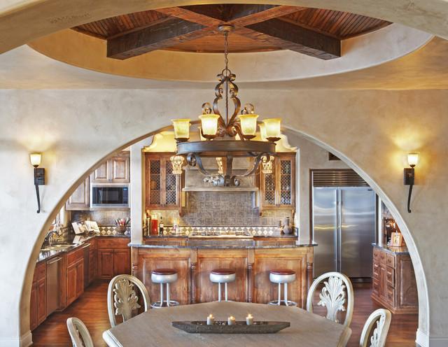 Palmieri Residence mediterranean kitchen