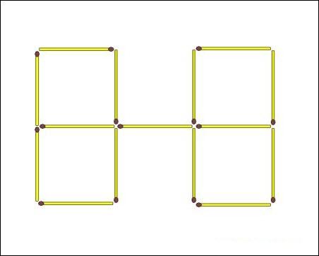 Как из пяти квадратов сделать один 26