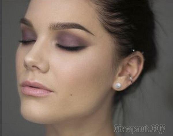 Как сделать губы уже макияж 5