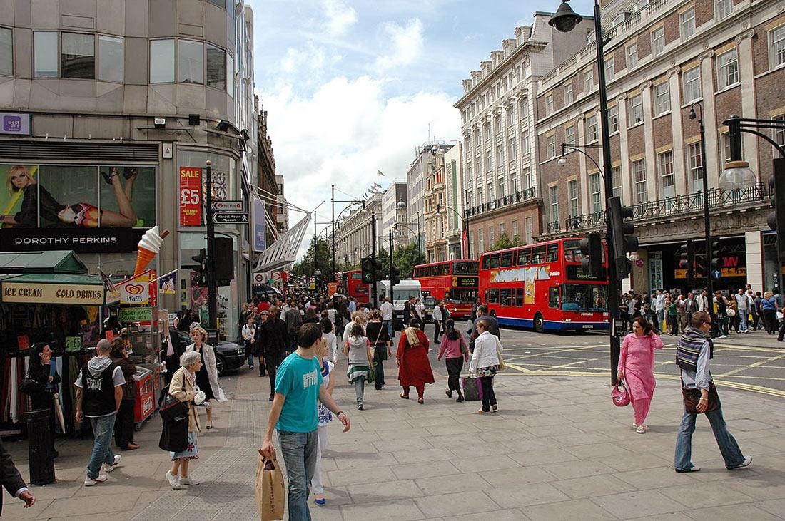 многолюдные улицы картинки картинки