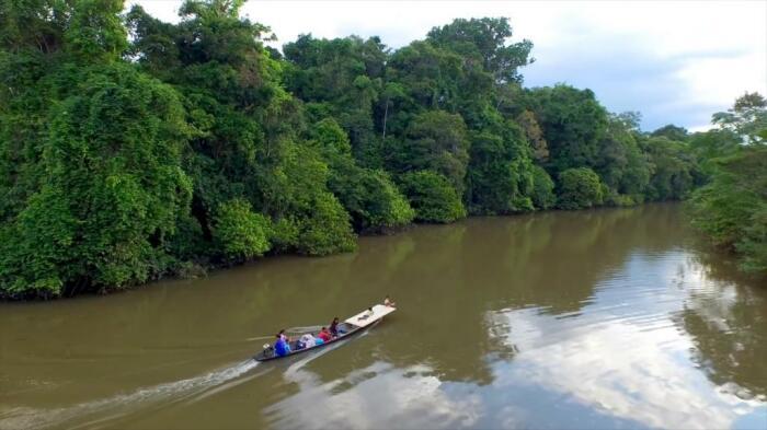 Для передвижения по реке мосты не нужны: и местное население, и туристы предпочитают пользоваться катерами и лодками / Фото: fb.ru