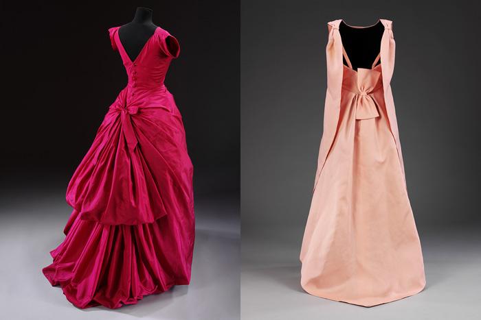 Платья от Кристобаля Баленсиаги.