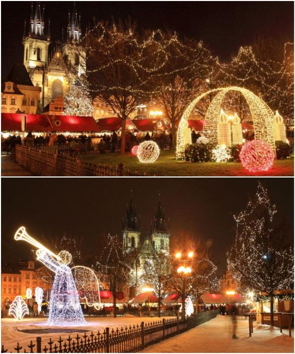 Ничто так не преображает Прагу, как ожидание Рождества (Чехия).   Фото: 420on.cz/ zlatapraha.net.