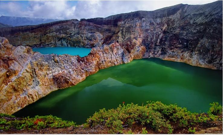Разноцветные озера вулкана Келимуту, Индонезия рекомендации