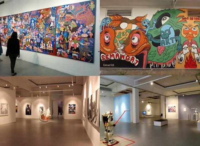 Внутри национальной галереи