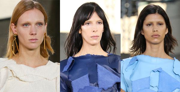 Модные стрижки на волосы средней длины весна-лето 2015