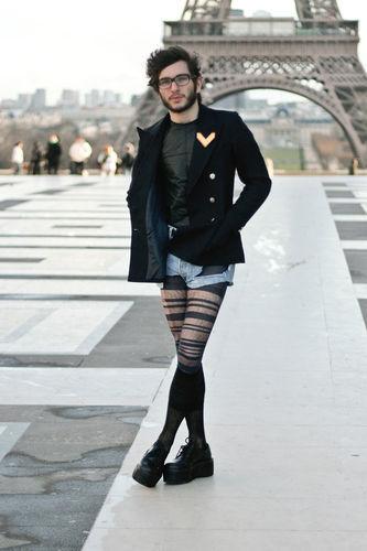 уличная мода париж фото