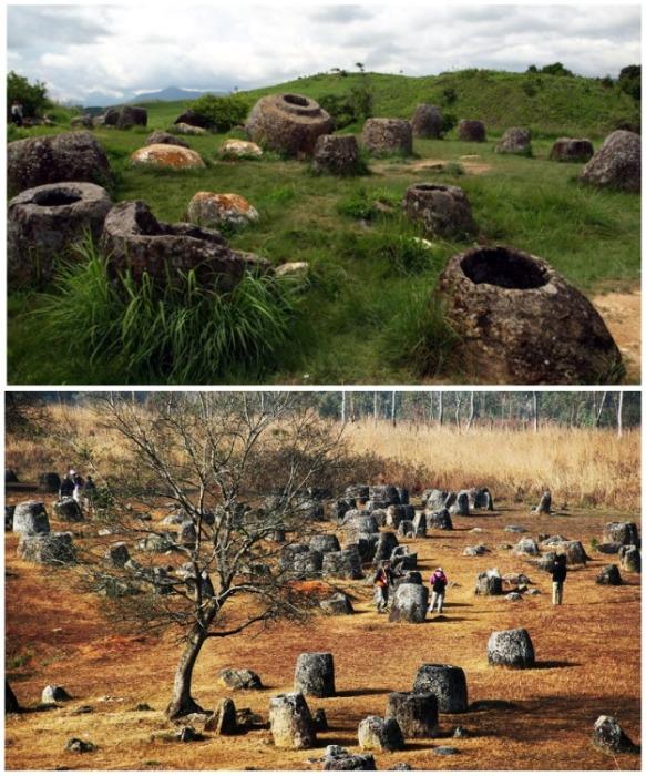 Уже более 500 резных каменных сосудов было найдено на территории совреиенного Лаоса (Южная Азия).   Фото: ru.depositphotos.com.
