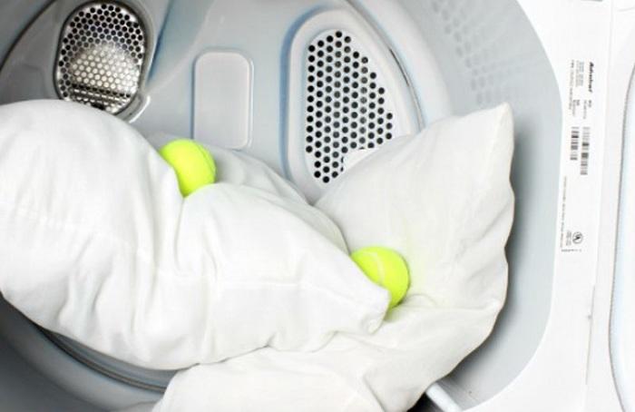 Двойное полоскание подушек и одеял. | Фото: Our Bumble.