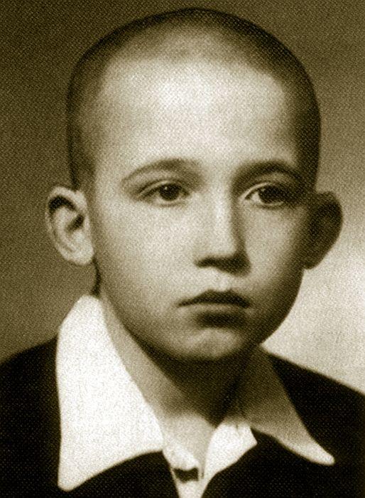 Вячеслав Малежик в детстве. / Фото: www.malezhik.ru