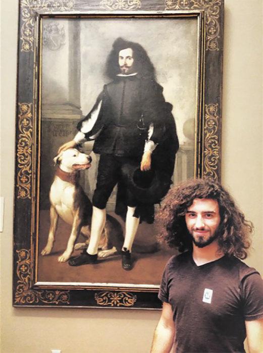 Автор картины «Портрет дона Андреаса де Андраде» (около 1665-1670 годов) - испанский художник Бартоломе Эстебан Мурильо (Bartolome Esteban Murillo).