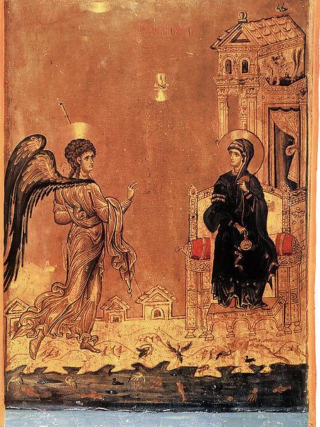 Икона из монастыря св. Екатерины на Синае. Конец XII в.