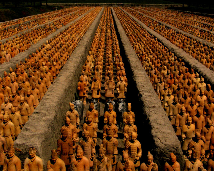 Терракотовая армия.