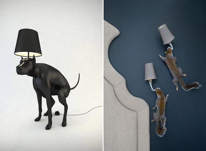 Лампы и светильники вас порадуют своей естественностью.