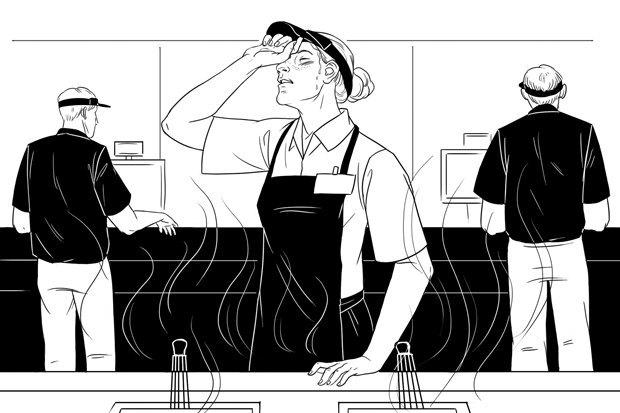 Как всё устроено: Работник McDonald's. Изображение №1.