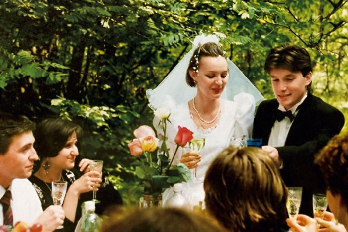 Первая свадьба. / Фото: www.7days.ru