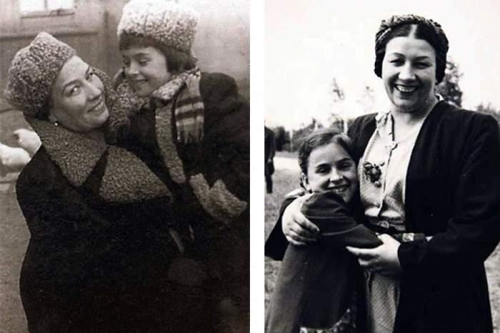 Лидия Андреевна с приемной дочерью Маргаритой.