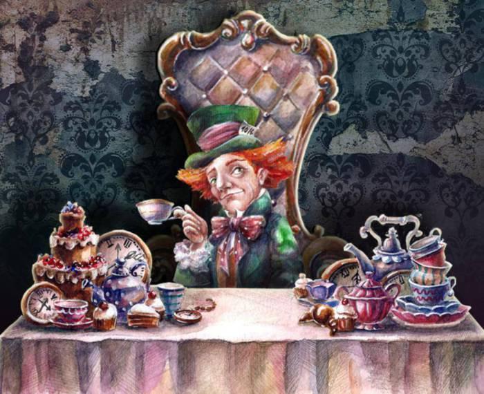 Алиса в стране чудес. Шляпник. Автор: Яна Фефелова.