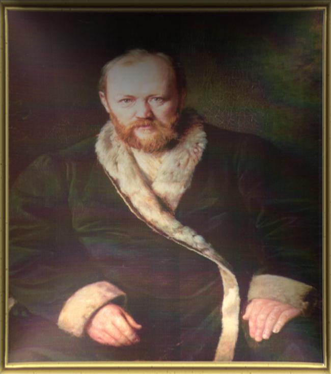 Портрет А.Н. Островского