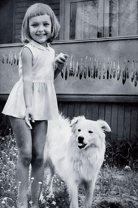 Татьяна Проценко в детстве. / Фото: www.7days.ru