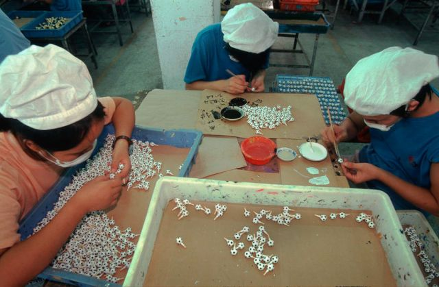 Фабрика игрушек в Китае