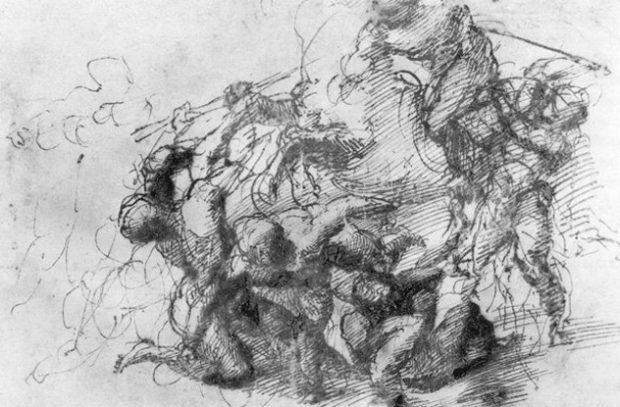 Леонардо смело брался за работу, в которой был дилетантом