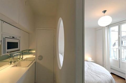 Дизайн квартиры площадью 14 кв. м!
