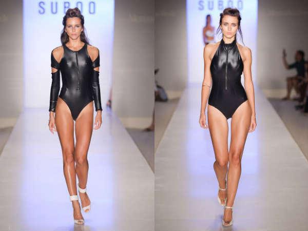 Модные купальники лето 2015 в авангардном стиле