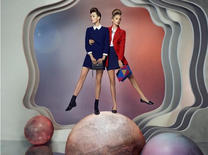 Кира Пластинина представила новую футуристичную рекламную кампанию
