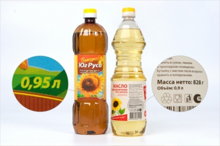 Подсолнечное масло сколько мы недоедаем настоящий вес продуктов обман