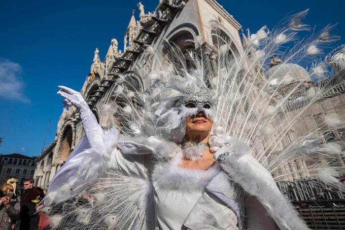 Один из символов Венецианского карнавала.