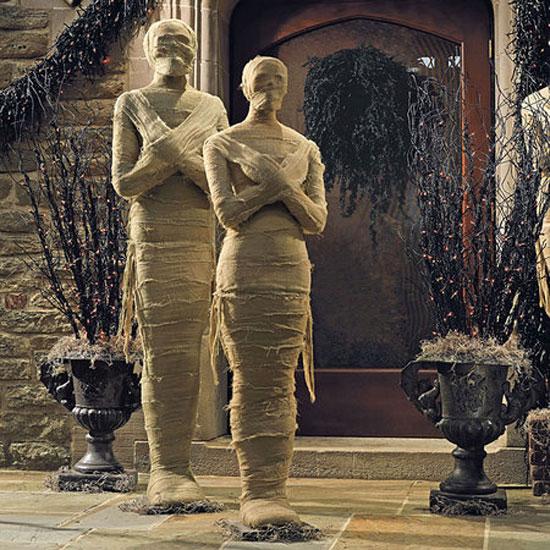 Статуи для дома на Хэллоуин