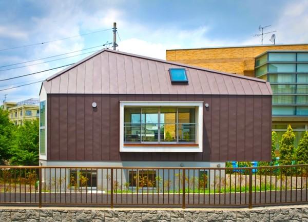 Очень узкий дом: