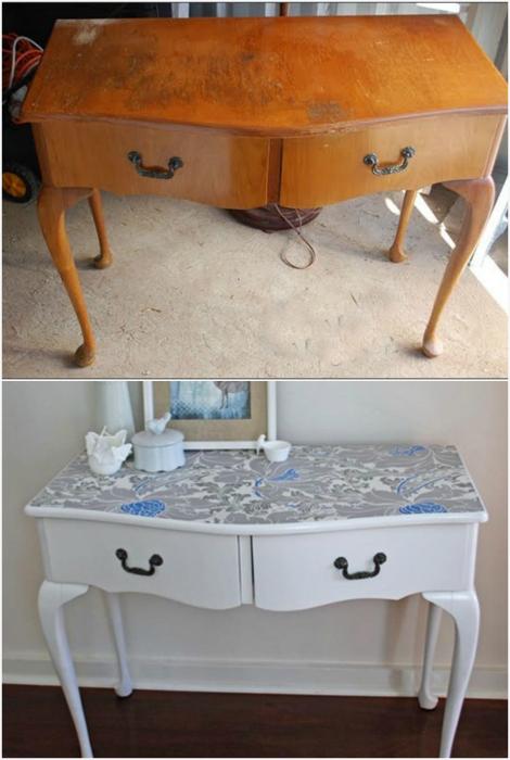 Профессиональный редизайн старой консоли позволит улучшить внешний вид мебели без лишних затрат и потери фирменного стиля.